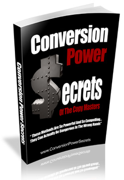 Conversion Power Secrets